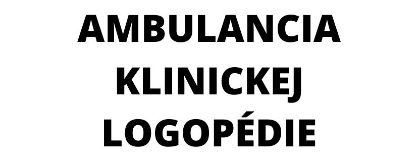 Logopedická ambulancia - Andrea Dobossy