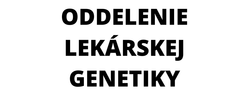 Oddelenie lekárskej genetiky NsP